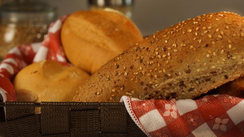 Specialty Bakery Kelowna - Flax Seed Buns