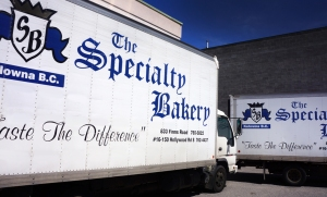 Specialty Bakery Kelowna Delivery Trucks