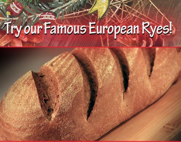 Specialty Bakery European Rye